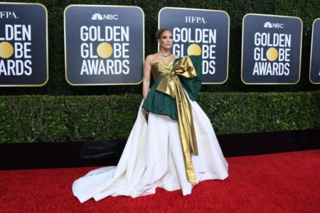 Adrian Glass Picks his selection of the best outfits at last night's Golden Globes